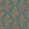 Seamless floral pattern in the style of damascus eps illustration Royalty Free Stock Photo