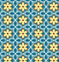 Floral pattern seamless. Royalty Free Stock Photo