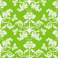 Seamless floral pattern, vector Stock Image