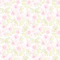 Seamless floral pattern vector illustration Royalty Free Stock Photos