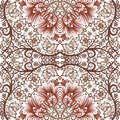 Seamless floral pattern vector vintage background Royalty Free Stock Photo