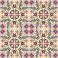 Seamless floral pattern vector vintage background Stock Images