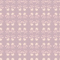 Seamless floral patterns on violet background Royalty Free Stock Photo