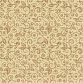 Seamless floral print canvas background Royalty Free Stock Photos