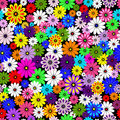 Seamless floral vivid pattern Royalty Free Stock Photography