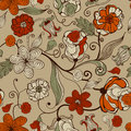 Seamless FloralPattern Royalty Free Stock Photography