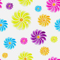 Seamless flower background eps this is editable vector illustration Royalty Free Stock Images