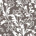 Seamless flower lace pattern this is file of eps format Royalty Free Stock Images