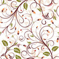 Seamless flower pattern Royalty Free Stock Photo