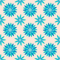 Seamless flower pattern background vector Stock Photos