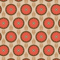 Seamless flower pattern colorful set vector Royalty Free Stock Photos