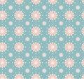 Seamless flower pattern colorful set vector Royalty Free Stock Image