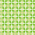 Seamless flower pattern colorful set vector Royalty Free Stock Images
