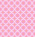 Seamless flowers pattern Stock Photos