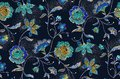 Seamless flowers pattern with black background.. for textile, wallpaper, pattern fills, covers, surface, print, gift wrap, scrap b