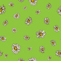 Seamless Flowers Pattern. Natu...