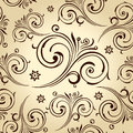 Seamless flowers wallpaper. Vintage background Royalty Free Stock Image