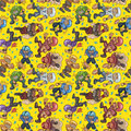 Seamless football pattern Stock Images