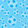 Seamless football wallpaper Royalty Free Stock Photo