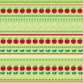 Seamless fruit wallpaper Royalty Free Stock Photos
