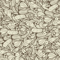 Seamless Funky Pattern Stock Image