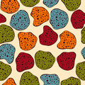 Seamless Funky Pattern Stock Photos