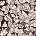Seamless  Funky Pattern Stock Images