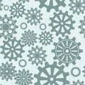 Seamless gear pattern Royalty Free Stock Photography