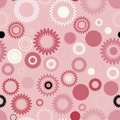 Seamless gear pattern Royalty Free Stock Photos