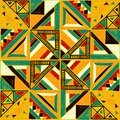 Seamless African pattern. Ethnic ornament on the carpet. Aztec style. Figure tribal embroidery. Indian, Mexican, folk pattern. Royalty Free Stock Photo