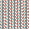 Seamless geometric background patterns of leaves in pastel colours on a background of graphite