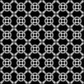 Seamless geometric crisscross pattern. Royalty Free Stock Photo