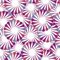 Seamless geometric floral background abstract nature pattern Stock Photo