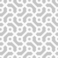 Seamless geometric monochrome pattern diagonal vector vintage texture abstract technology background Royalty Free Stock Image