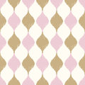 Seamless geometric ornament mesh pattern Royalty Free Stock Photo