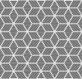 Seamless geometric pattern. Royalty Free Stock Image