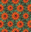 Seamless geometric pattern abstract sunny Royalty Free Stock Photography