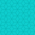 Seamless geometric pattern background with lines cubes and stripes Royalty Free Stock Photography