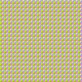 Seamless geometric pattern of colored triangles