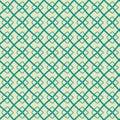 Seamless geometric pattern in hand drawn style