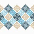 Seamless geometric pattern. The texture of the rectangles. Scribble texture. Royalty Free Stock Photo