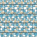 Seamless geometric pattern. The texture of the stones. Trendy seamless pattern designs.