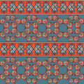 Seamless geometric pattern tile this is file of eps format Stock Photography