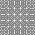 Seamless geometric pattern vector abstract background design art with ethnic ornaments and shapes grey and white Royalty Free Stock Photo
