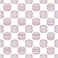 Seamless geometric pattern vector design vintage retro background abstract art with colorful horizontal and vertical lines stripes Royalty Free Stock Photo