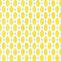 Seamless geometric pattern. Yellow, lemon, blue and white colors