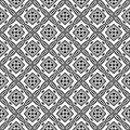 SEAMLESS BLACK AND WHITE GEOMETRIC PATTERN. Design, arts. background design