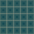 Seamless geometric square pattern illusion geometrics Royalty Free Stock Images