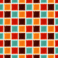 Seamless geometric square tile background Royalty Free Stock Photo