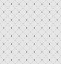 Seamless Geometric Texture with Rhombus and Dots Royalty Free Stock Photo